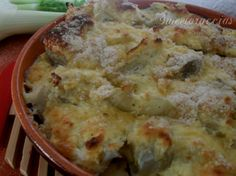Fennel with philadelphia cream cheese gratin Diet Recipes, Healthy Recipes, Veggie Dinner, Everyday Food, Antipasto, Vegetable Recipes, Finger Foods, Italian Recipes, Vegan Vegetarian
