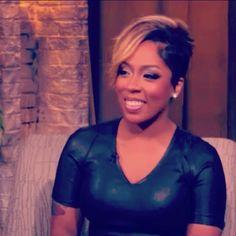 K. Michelle's hair cut is lovely!