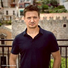 """Jeremy Renner's image - """"Taormina film fest.  Thx for the chat today! #sicily #taormina"""" on WhoSay"""