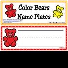 These cute & colorful bears will brighten up your classroom. Just in time for Back-to-School. Great to use for nameplates or word strips. Be sure t...
