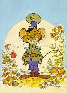 Dargay Attila: Az Erdő Kapitánya Pet Mice, Princess Peach, Illusions, Retro, Children, Drawings, Animals, Illustrations, Artists