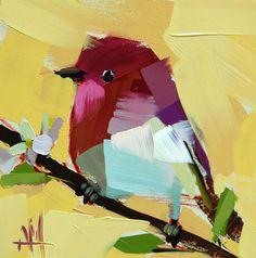 Rose Finch no. 32    by Angela Moulton