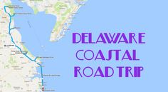 Hit the road to see the best coastal scenery in Delaware.