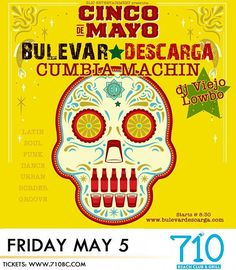 Don't forget tomorrow at P.B. Bulevar Descarga is bringing the sound you guys just show up to be ready to get down with special guest Cumbia Machin and D.J. Viejo Lowbo 8.30 at the @710beachclub #music #bulevardescarga #sandiego #pacificbeach #party #5demayo # #pacificbeachlocals #sandiegoconnection #sdlocals #sandiegolocals - posted by Bulevar Descarga SD.TJ  https://www.instagram.com/bulevardescarga. See more post on Pacific Beach at http://pacificbeachlocals.com