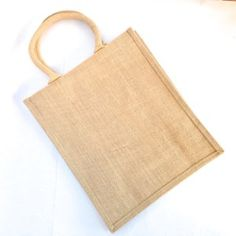 Medium Hessian Bag Rectangle