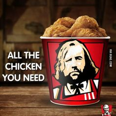 Arya and the Hound go to...KFC?