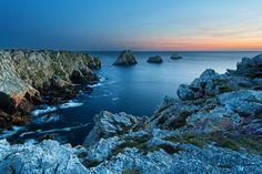 Pointe de Penhir  - Bretagne by Michael Kirste