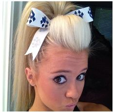 Cheer poof. Jamie andries cheer athletics cheetahs.