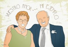 Caricaturas familiares