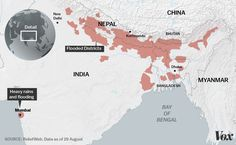 Two weeks of flooding have devastated communities across India, Nepal, and Bangladesh.