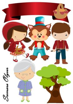 Alice, Red Riding Hood, Little Red, Cake Toppers, Pastel, Baby Shower, Red Cake, Shoe Tieing, Children Images