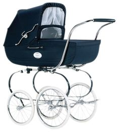 Will the baby have an english pram like me? So many questions to answer Vintage Stroller, Vintage Pram, My Little Baby, Baby Kind, Pram Stroller, Baby Strollers, Prams And Pushchairs, Winter Baby Clothes, Baby Buggy