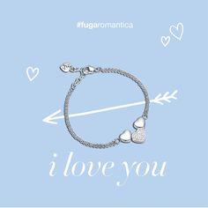 Bracciale in acciaio con resina e cristalli bianchi nel cuore centrale Luca Barra Gioielli. #bracciale #lucabarra euro 20 #fugaromantica #sanvalentino