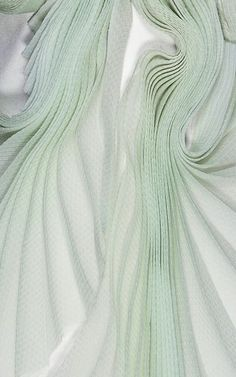 Fragment Corset by Ellery for Preorder on Moda Operandi Fabric Manipulation Techniques, Textiles Techniques, Colour Story, Color, Eros And Psyche, Green Nature, Plant Design, Historical Costume, Fabric Samples