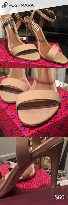 Steve Madden Heels Worn once for about 30 seconds walking down the aisle for a wedding. Steve Madden Shoes Heels