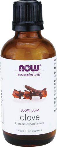 Clove Oil - good for toothaches! and antiseptic! Get it at Mr. Nutrition in van buren. Many other oils too!