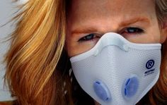 Respro® Allergy™ Mask - white http://www.respro.com/products/urban-commuting/walking/respro_allergy_mask/#