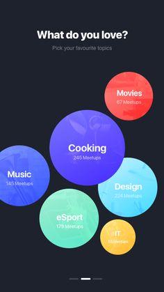Bubbles Web Design, App Ui Design, Interface Design, Mobile Ui Design, Music App, Ui Design Inspiration, Ui Web, Apps, Design Reference