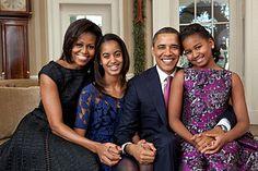 Resultado de imagem para fotos familia obama