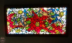 I love stained glass! This is how I made a large mosaic glass light for my ceiling using scrap glass. It all started with the glass. I found scrap glass for sal…