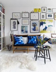 Vivid Gallery Wall