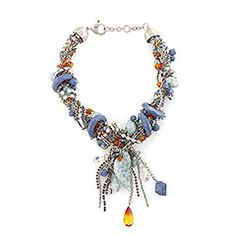 Atelier Swarovski by Eric Daman, Urban Aztec Necklace - dress up or down, perfect either way.