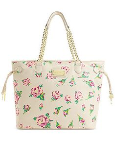 Betsey Johnson Chain Tote - Handbags & Accessories - Macy's