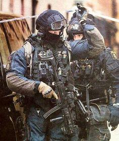 Swedish Police Service PIKETEN Operatives.
