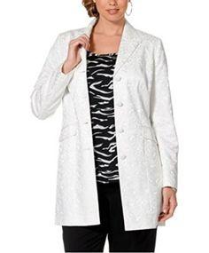 Sheego, Long Jackets, Plus Size Fashion, Monochrome, Duster Coat, Curves, Shopping, Mad, Style