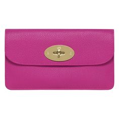 We want this Mulberry Purse in hot pink #musthave #fashion............I want it to match the bag!!!!