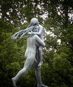 "༻✿༺ ❤️ ༻✿༺ The Sculptures of Norwegian Sculptor Gustav Vigeland in ""The Vigelend Park"" in Oslo, Norway ༻✿༺ ❤️ ༻✿༺"