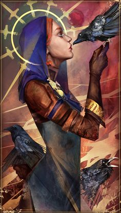 First try to create a fanart from dragon age. Not satisfied but it marks the beginning of several test :p