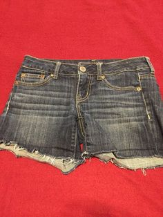 c55d7cca82b6 American Eagle Women's Stretch Jean Shorts Size 0 #fashion #clothing #shoes  #accessories #womensclothing #shorts (ebay link)