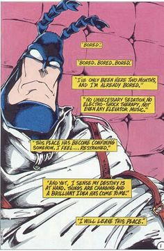 The Tick Quotes - Nextdoorland Comic Book Panels, Comic Book Covers, Comic Book Characters, Comic Books Art, Comic Art, Book Art, Electro Shock, City Of Heroes, Elevator Music