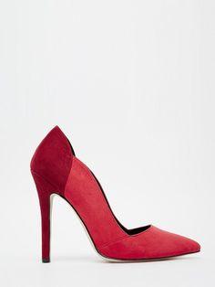 Escarpin rouge passion ASOS - Un peu haut mais crush sur la couleur