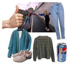 """Street"" by sannalagesenfenheim ❤ liked on Polyvore featuring Topshop, Prada and NIKE"
