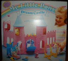 my little pony castle - the original castle