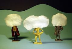La tête dans les nuages ?