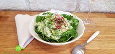 Brokolicový salát s česnekovou majonézou
