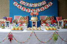 candyland birthday party inspiration party ideas kids birthday parties baby showers bridal shower ideas party planners birthday party id. Birthday Fun, Birthday Party Themes, Birthday Ideas, Birthday Table, Rainbow Birthday, Theme Parties, Third Birthday, Birthday Celebrations, Mouse Parties