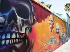 La Muerte Muro Panteón San Nicolás Leon, Guanajuato