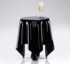 essey, Illusion / Side table black