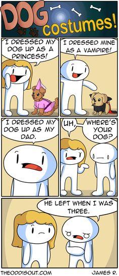 Theodd1sout :: Dog Costumes! | Tapastic Comics - image 1