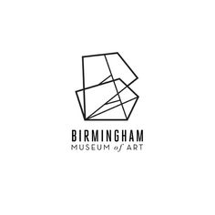 Logo Inspiration: Hold everything. let's take a moment to enjoy this crisp geometric logo with contrasting type faces, by Chris Yoon. Grafic Design, Gfx Design, Logo Inspiration, 2 Logo, Typo Logo, Logo Geometric, Editorial Design, Birmingham Museum Of Art, Design Visual