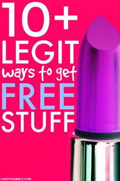 Free samples Legit ways to get free stuff. How to find free stuff. Best Money Saving Tips, Ways To Save Money, How To Make Money, How To Get, Saving Money, Free Stuff By Mail, Get Free Stuff, Free Makeup Samples, Free Samples
