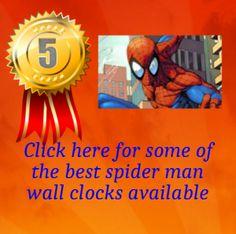 24 Best Spider Man Wall Clocks Images Spider Spiderman