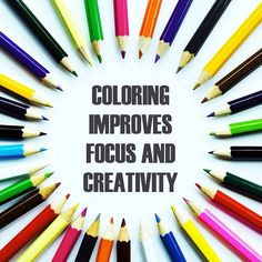 The Benefits Of Coloring Focus And Creativity