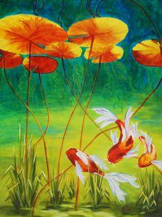 Day Dreamin Painting - Day Dreamin Fine Art Print - Karen Dukes