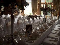 castle leslie ireland wedding reception room