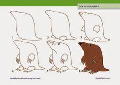 Kerajinan Anak - Menggambar Tikus Tanah - Cupido Creative